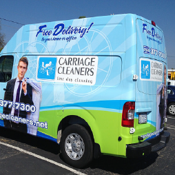 Vehicle Wrap Van