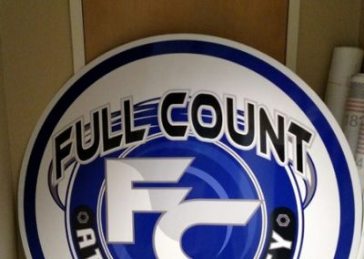 Five Foot Aluminum Sign