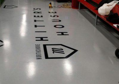 large floor decals