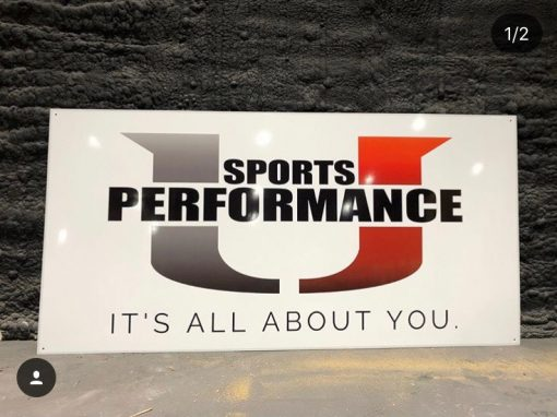 Large Metal Signage | U Performance