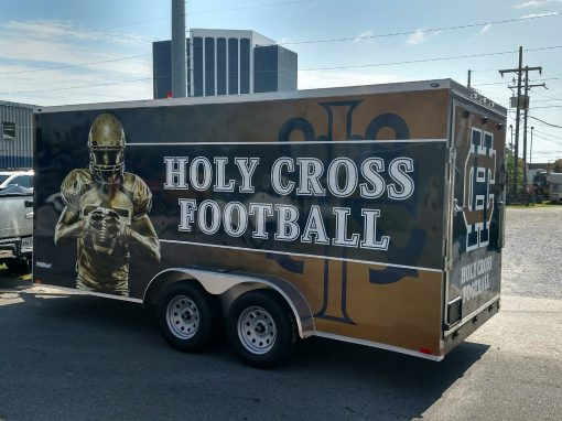 Vehicle Graphics | Holy Cross